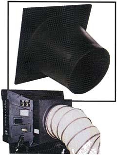 Ducting adapter for 16-inch Port-a-Filler