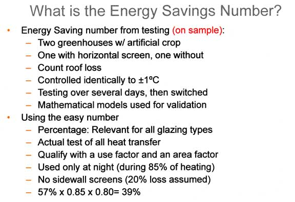 What is the energy savings number?