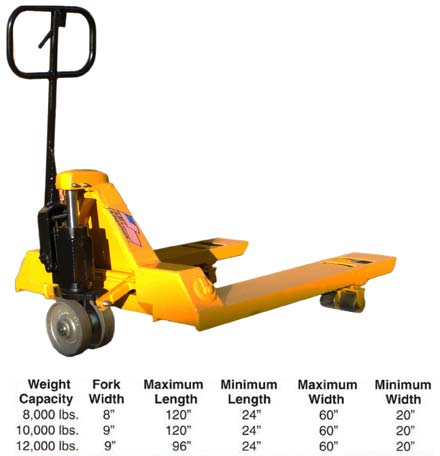 Dettails about the high capacity pallet jacks
