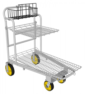 Nesting Cart with child seat