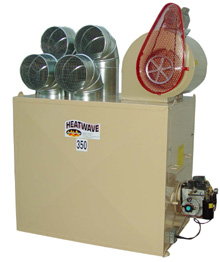 Heatwave Model 250 waste oil heater