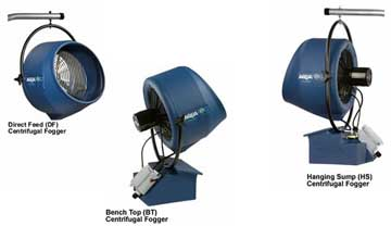 Aquafog SS 700: three models to choose from