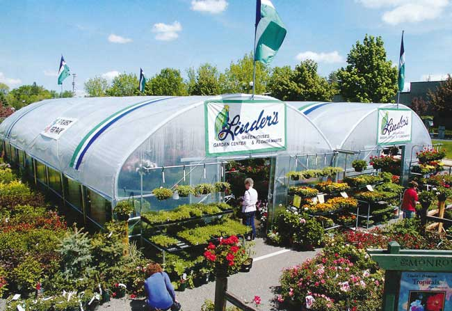 Bench-mart SR seasonal retail greenhouse
