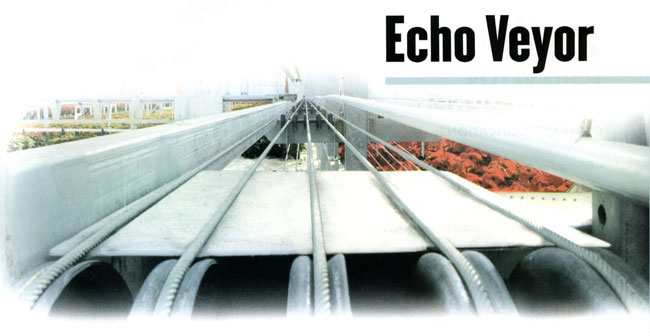 Echo-Veyor cable-driven conveyor system
