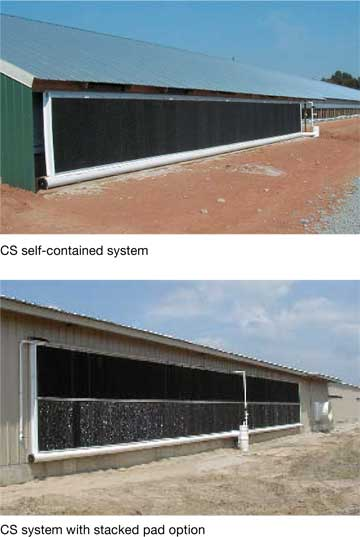 Aerotech Express Cool evaporative colling system installations