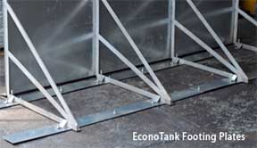 EconoTank footing plates