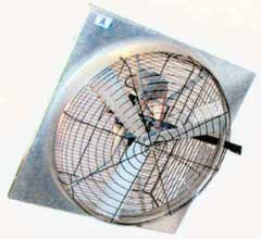 "48"" Apex fan with WG48 front guard"