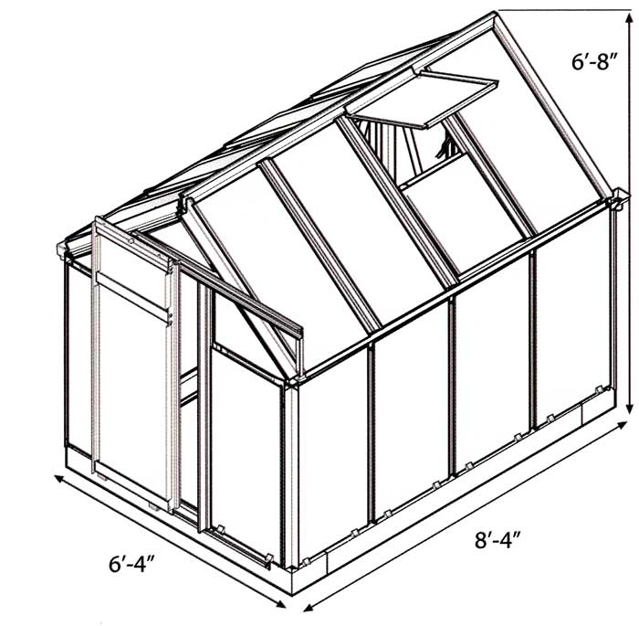 Multi-Line hobby greenhouse blueprint