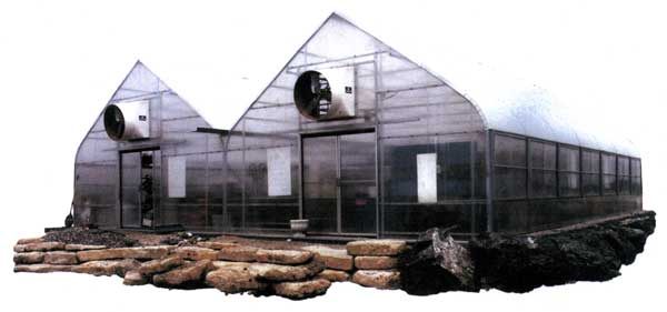 Retail mart greenhouse
