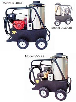 Hot Water Q Series Diesel Fired Model Pressure Sprayer/Cleaner