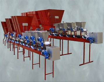 mixing system,mixing line,soil mixing system,Inline Soil Mixing System