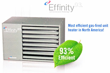 Modine Effinity - 93% efficiency condensing
