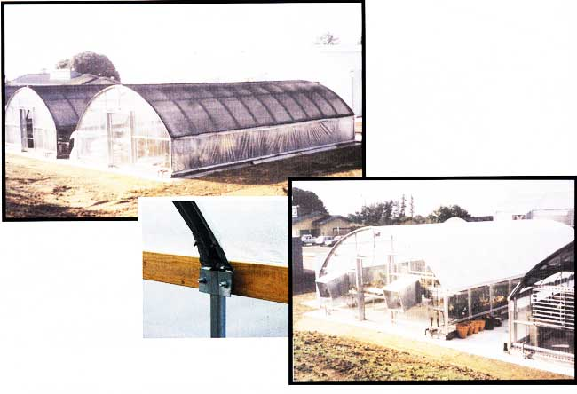 Pace Setter 1100 greenhouse