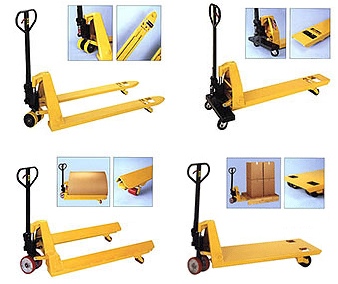 Size to order pallet jacks