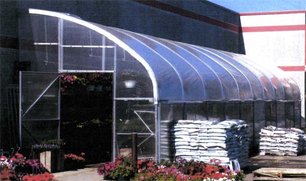 Smart-Mart seasonal retail greenhouse